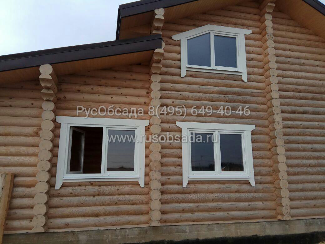 Деревянные наличники на окна в дом