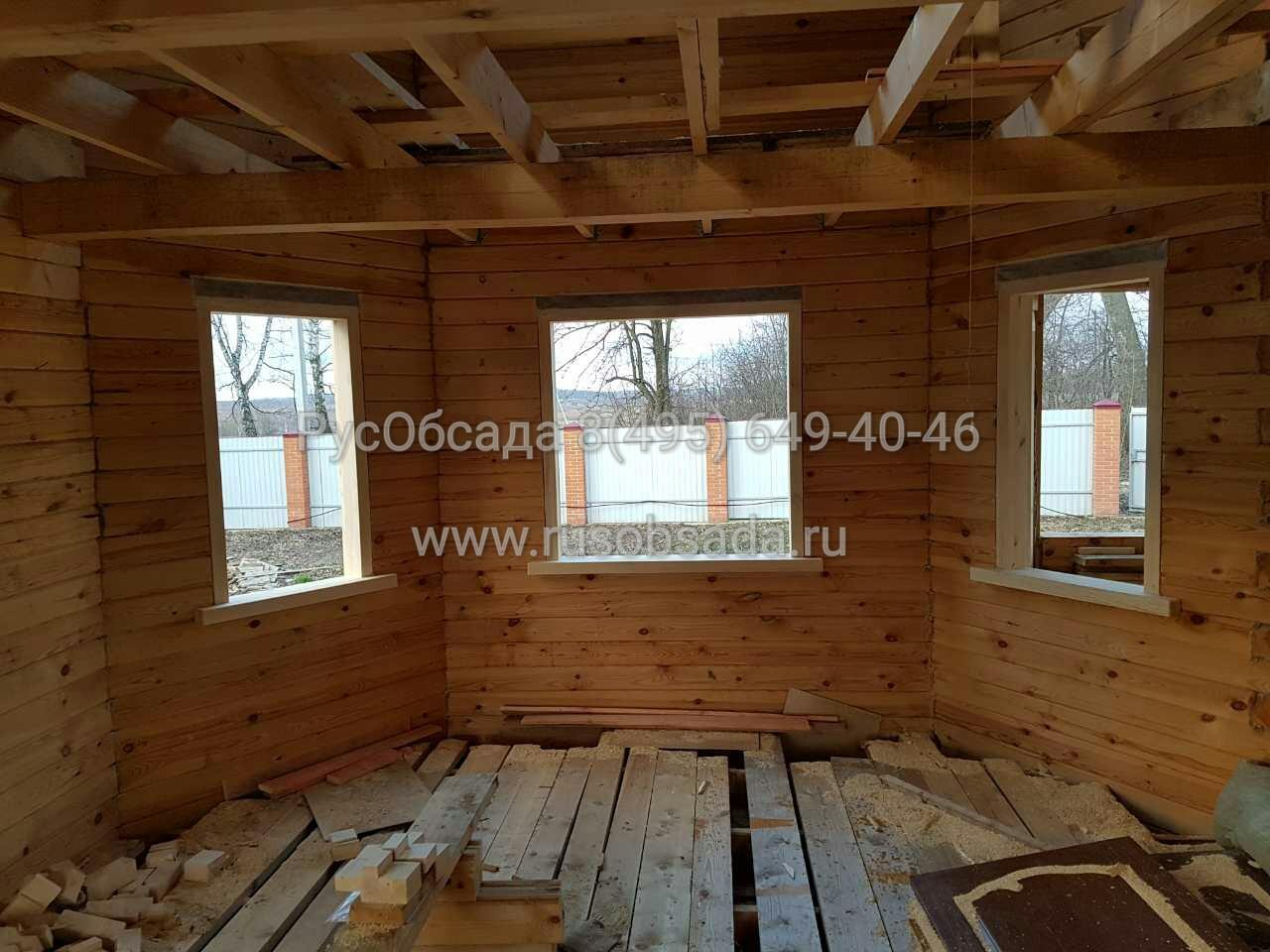 Правильная установка окон и дверей в деревянном доме 54