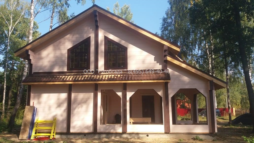 Обсада и окна в раменском районе КП Лукошкино