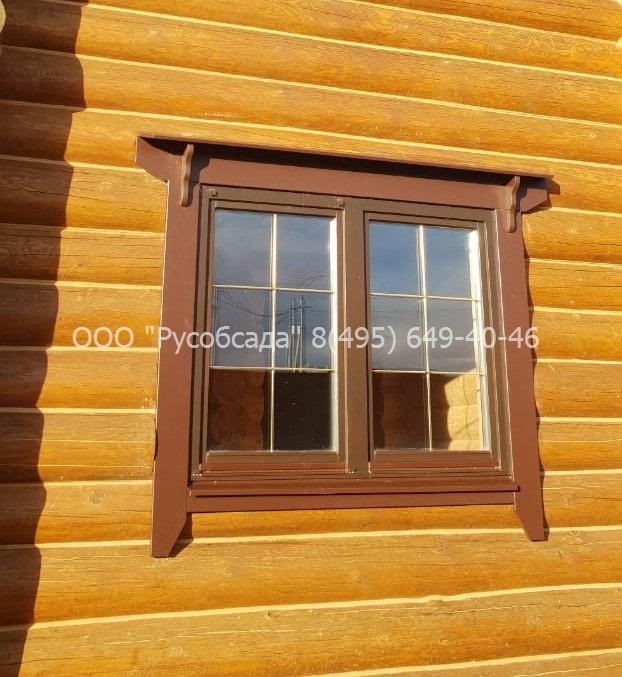Финский наличник на окне