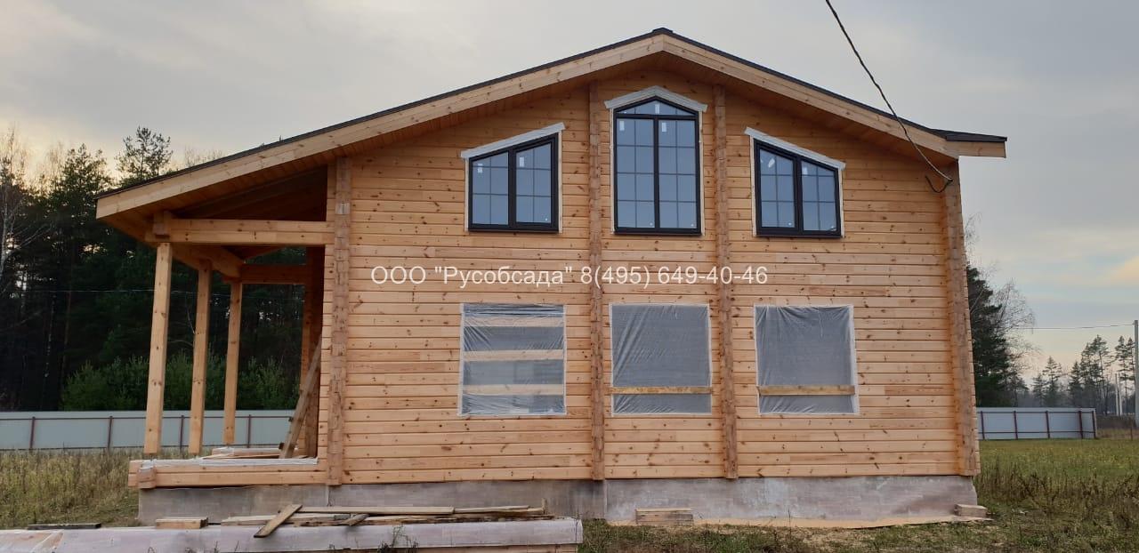 Остекление деревянных домов  Павлов-Посадский район Русобсада
