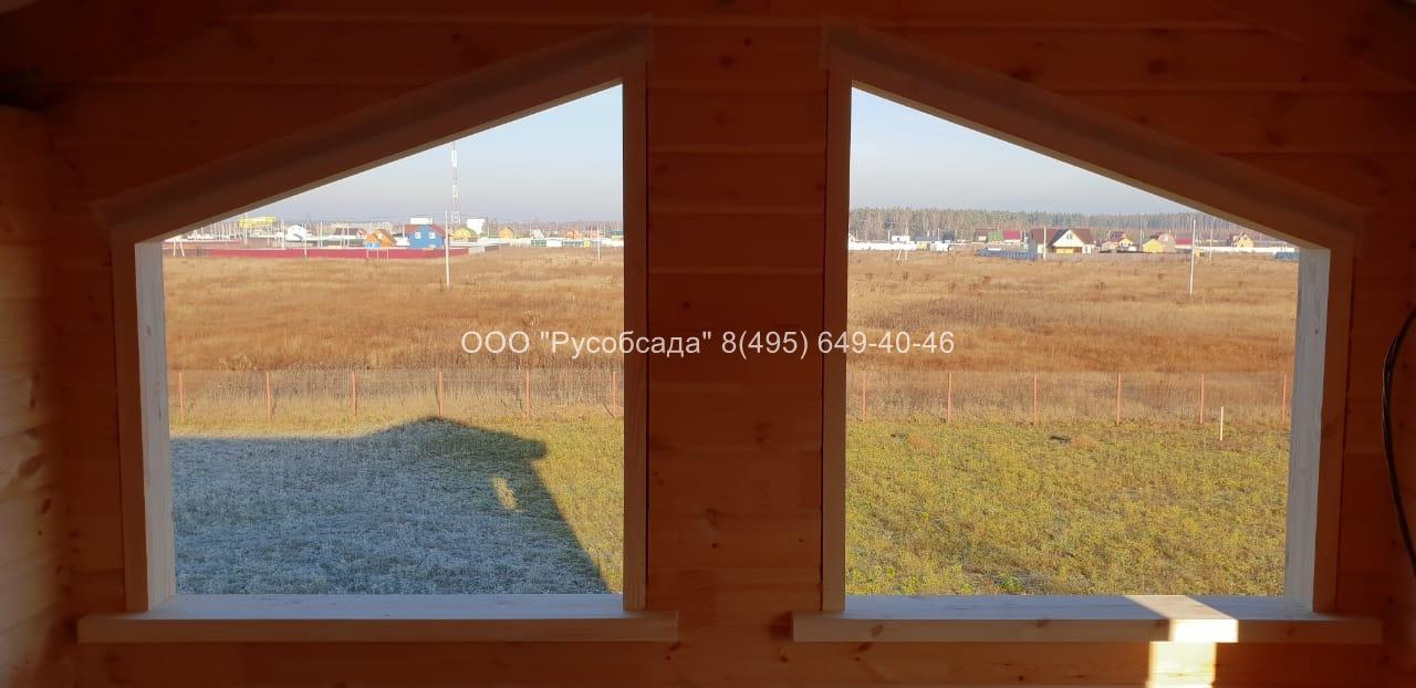 окосячка скошенных оконных проемов Павлов-Посадский район