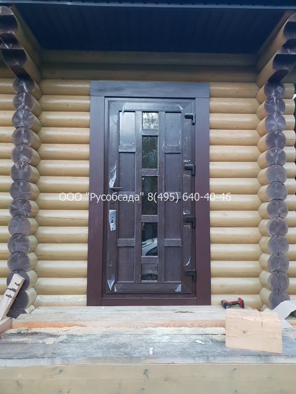 обсада входной двери