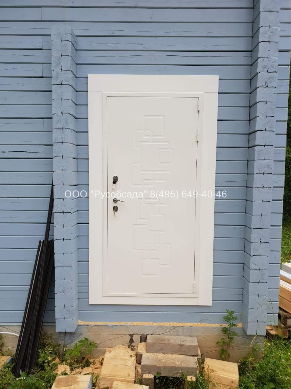 Окосячка для входной двери