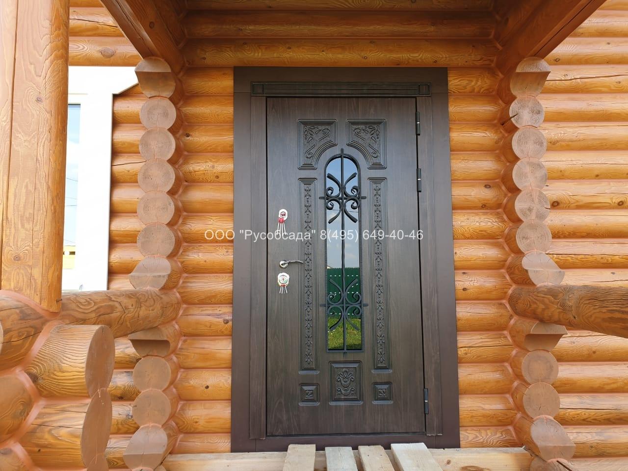 Русь Термо дверь со стеклопакетом