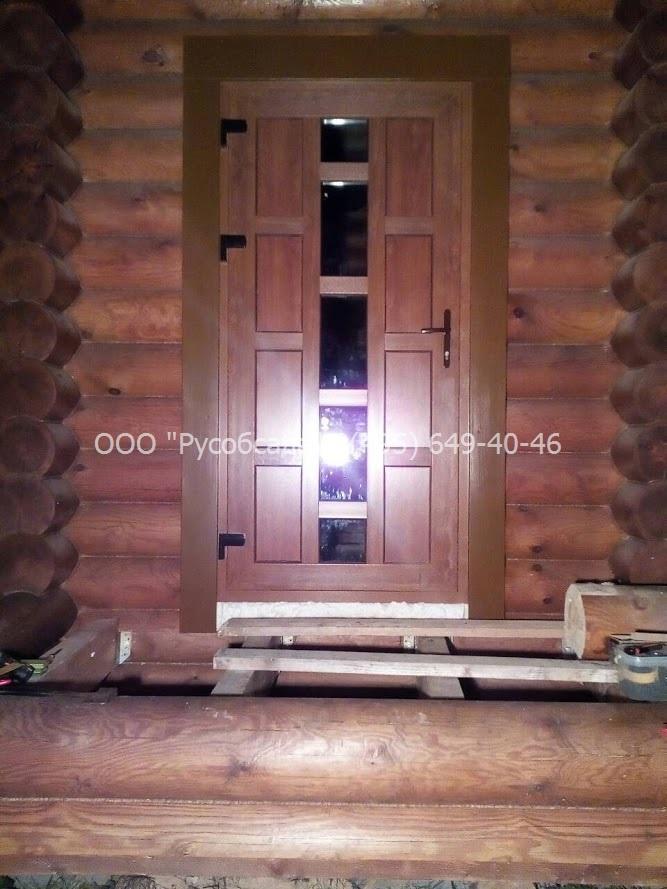 Дверь входная ПВХ с замком