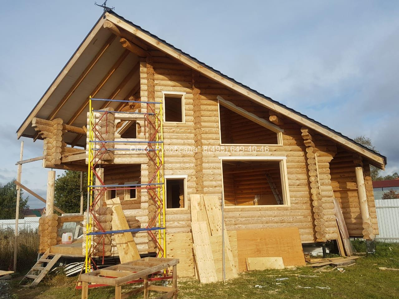 Обсада оконных проемов в деревянном доме