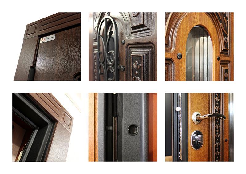 Дополнительный фото стальной двери с терморазрывом
