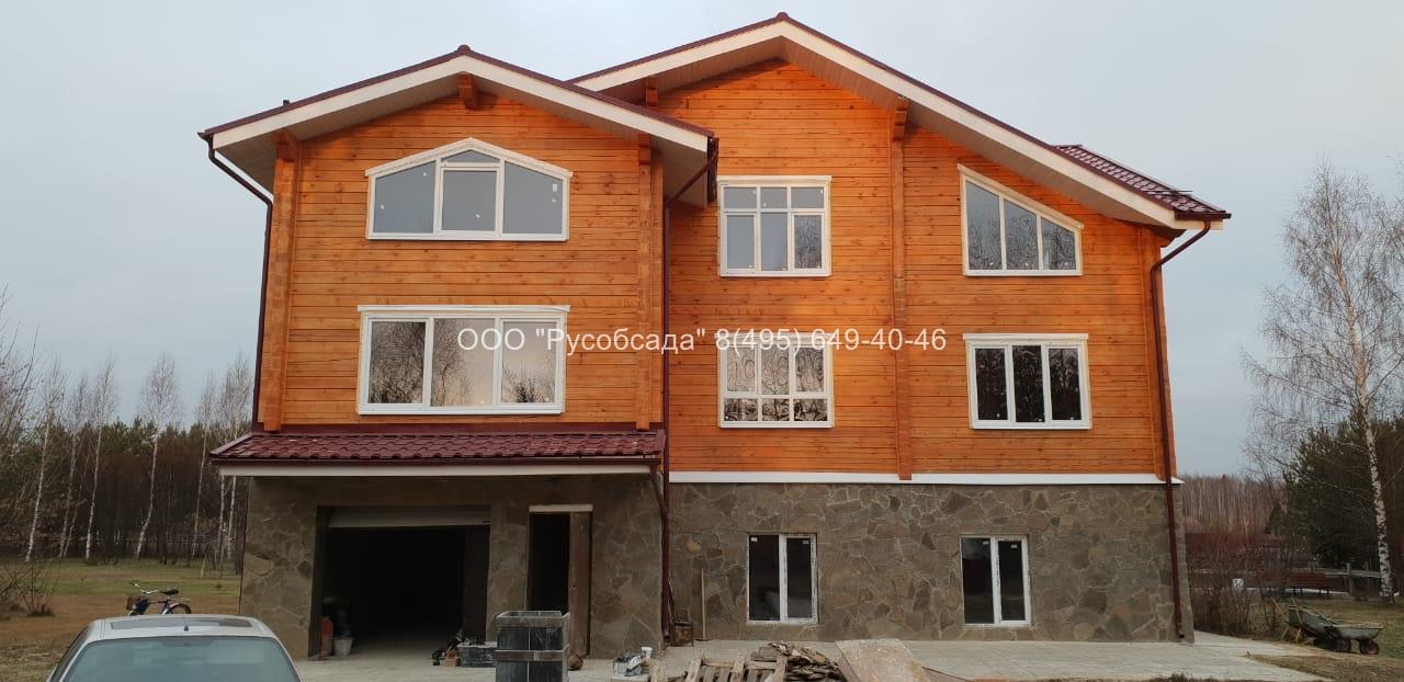 Остекление деревянных домов Русобсада