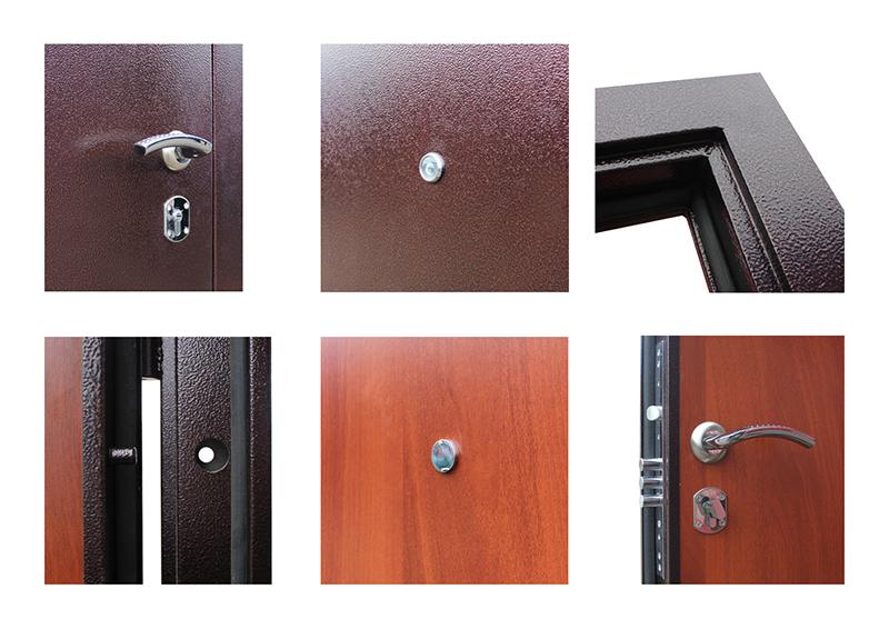 Дополнительный фото стальной двери